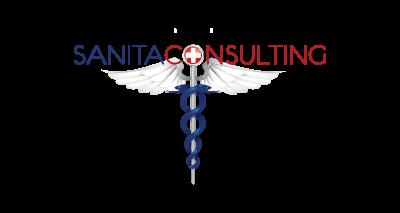 logo sanita consulting sfondo trasparente